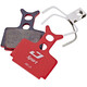 Jagwire Disc Sport Semi-Metallic Brake Pads For Formula R1R R1 C1 CR3 T1R T1 ROR RO Cura grey/red